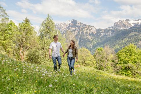 Paarfotos im Bregenzerwald
