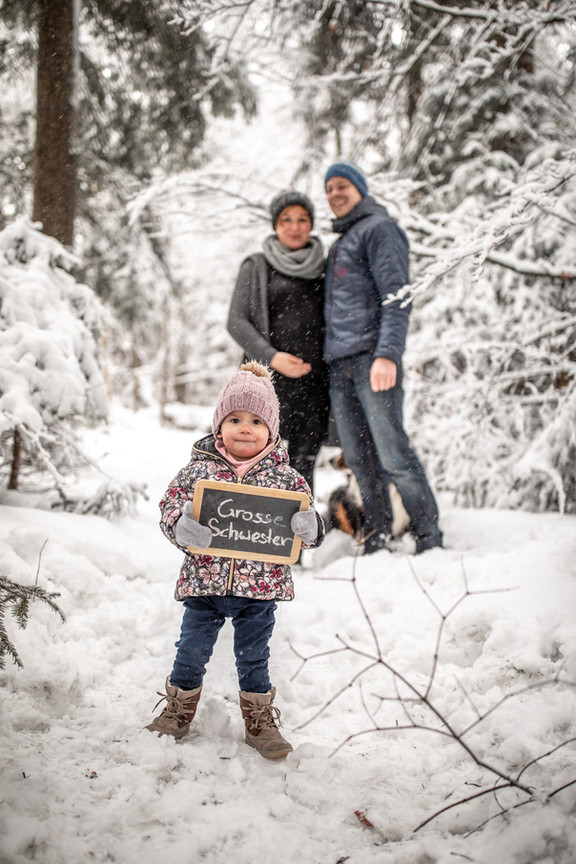 kreative Familien und Babybauchfotos in Vorarlberg
