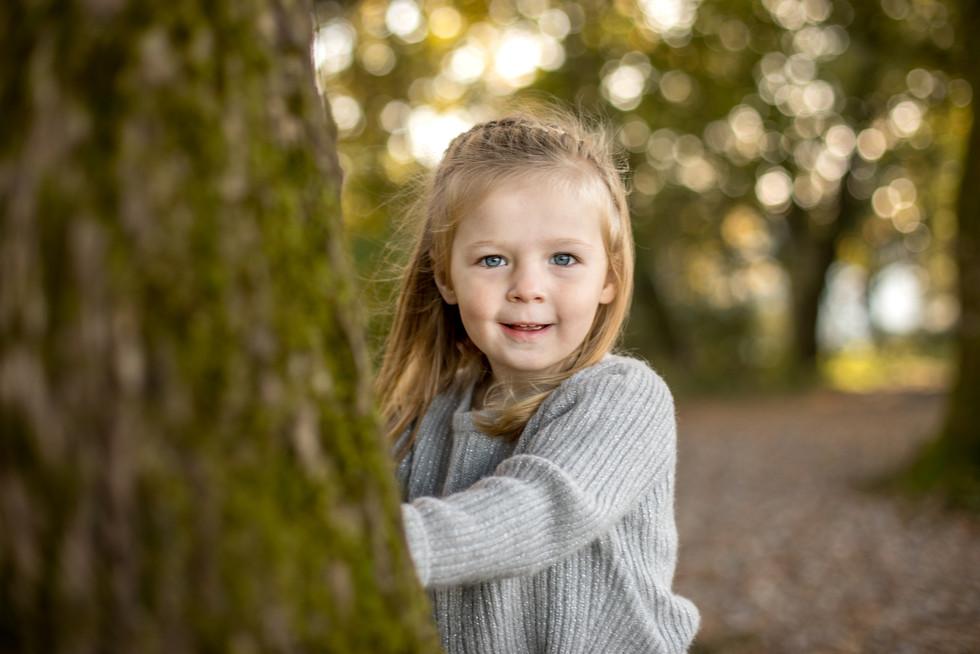Kinderportrait im Freien