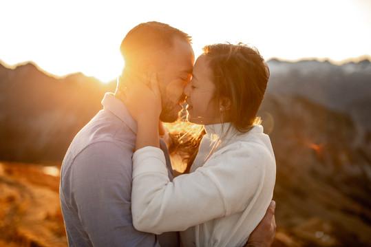 romantische Paar Fotos