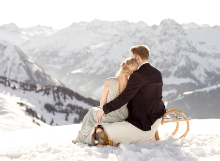 Winterwedding in Austria