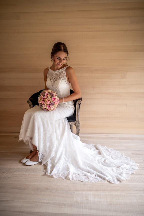 wunderschönes Brautportrait