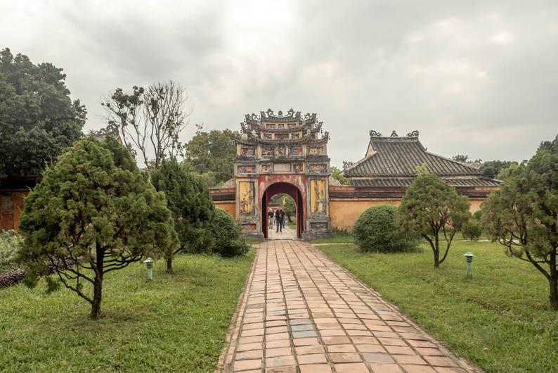 Bastille in Hue in Vietnam