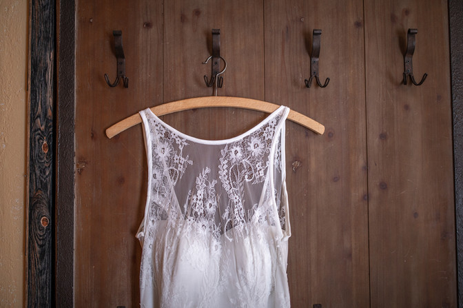 Boho Hochzeitkleid