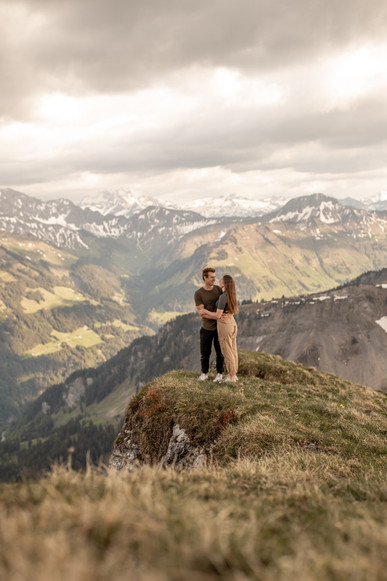 couple photos in mountain location in Austria