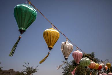 lanterns in Vietnam