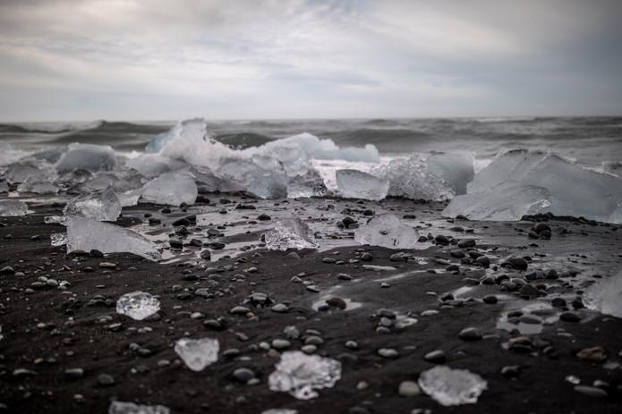 Gletscherlagune Jökulsárlón in Island || Bohoray - Abenteuer Hochzeits und Elopement Fotografin Island - Victoria Rüf  || www.bohoray.com