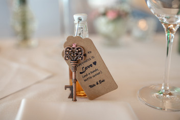 wedding favors at one wedding by the lake of constance