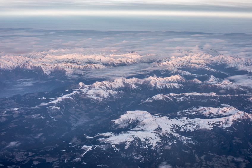 over the Mountains of Europe on my way to Morocco | Travel and Landscape Photography in Morocco Africa || Bohoray - Adventure Elopement and Wedding Photographer - Victoria Ruef || www.bohoray.com