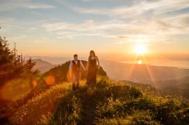 Paarshooting in dem Bergen