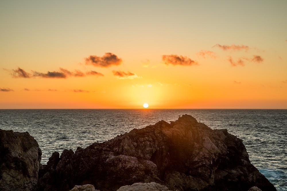 Sunset in Big Sur