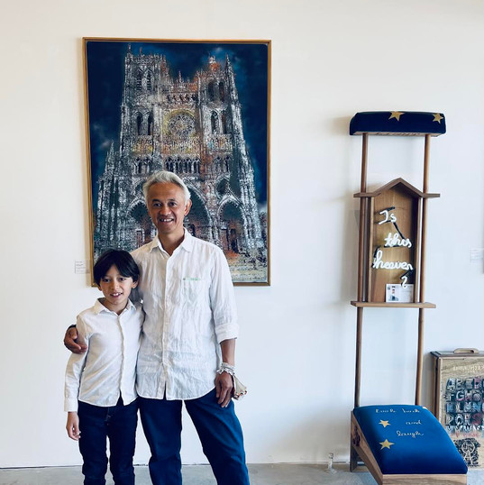 Hando Youssouf (Chef @ Vietnam Away) and his son Tâm