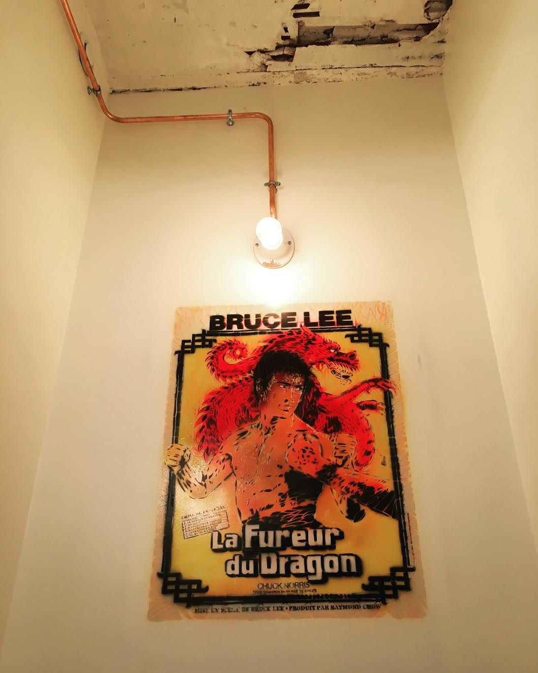Bruce Lee par Artiste Ouvrier