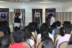 Picture from Dr. Tharoor Session