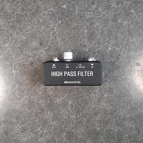 Always On High Pass Filter