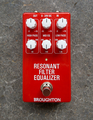 Resonant Filter Equalizer