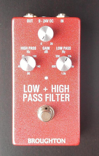 Low + High Pass Filter