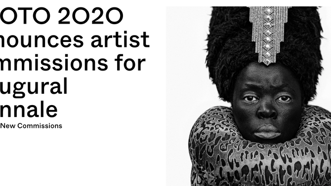 Thrilled to be one of the commissioned artists to produce new work for PHOTO 2020