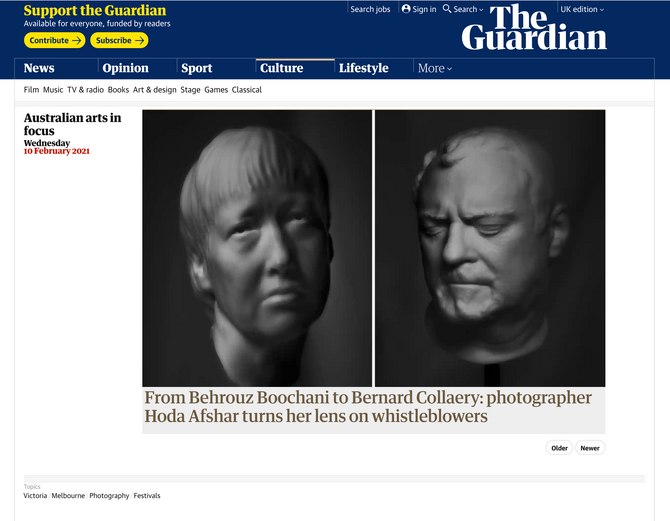 Agonistes featured in The Guardian