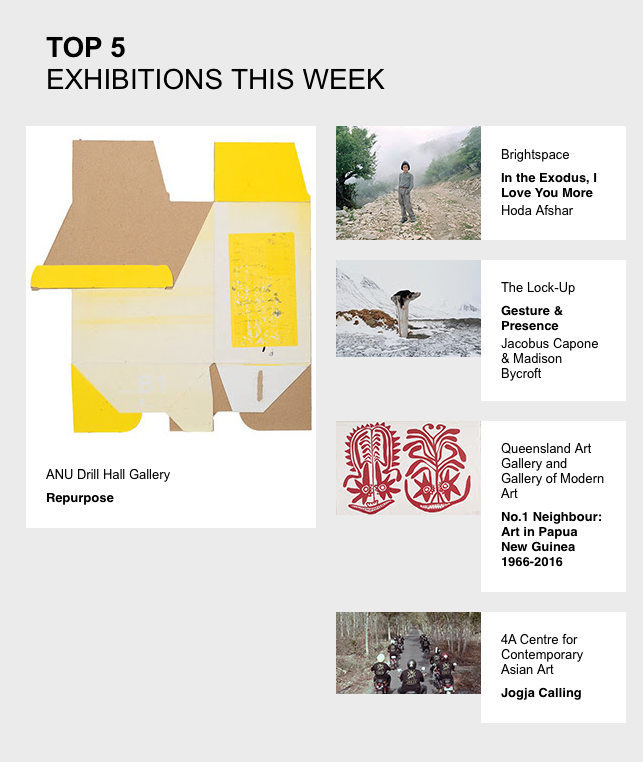 Art Guide Top 5 Exhibitions of the Week