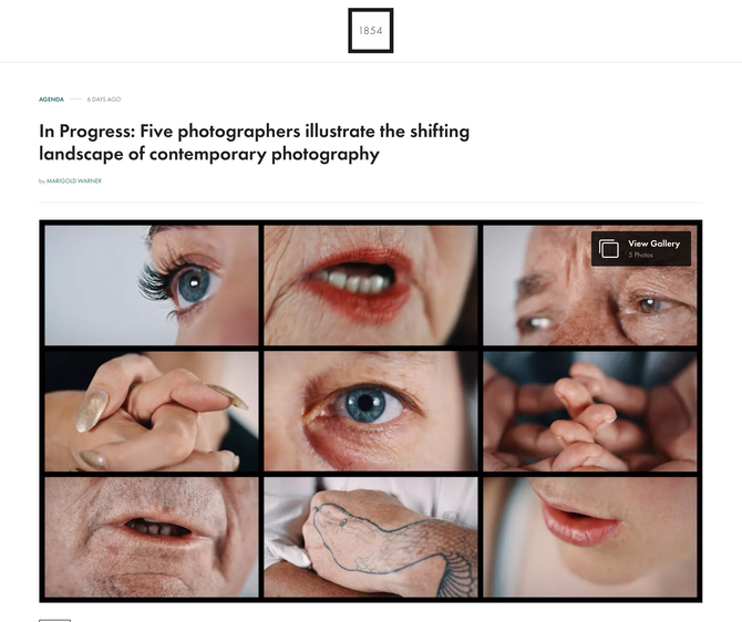 Review of In Progress Exhibition in British Journal of Photography