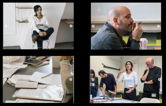 Artist Workshop: The Image as Poem, in collaboration with the poet and artist Daniele Pantano, Mansi
