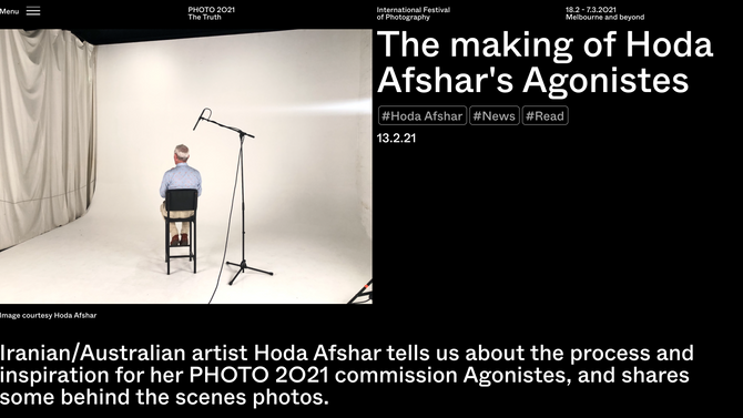 The making of Agonistes_PHOTO 2021