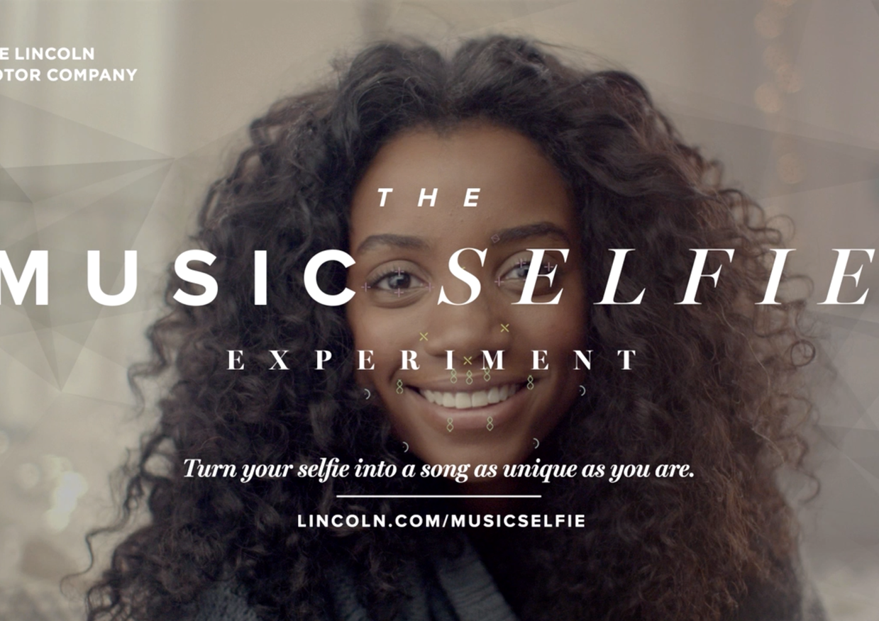 "Lincoln Motors ""Music Selfie Experiment"""