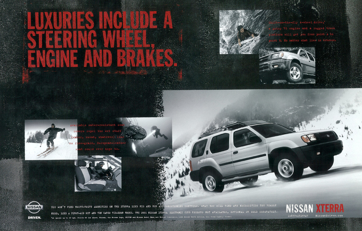 Nissan Xterra Launch Campaign