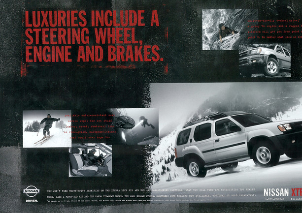 """Nissan Xterra """"Everything You Need. Nothing You Don't"""""""