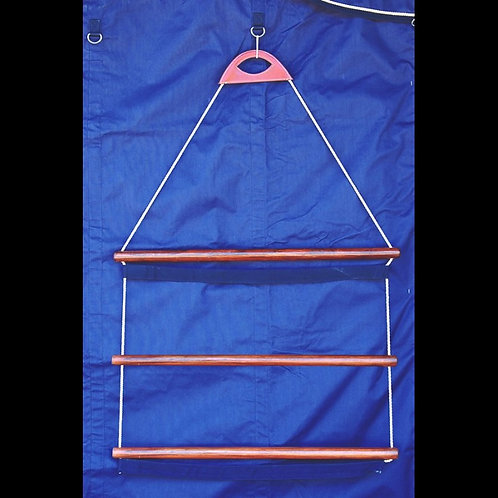 Dy'on Wooden Blanket Rack