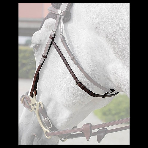 Dy'on English Hackamore Cheek Pieces