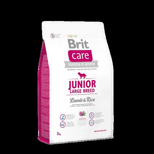 Brit Care Junior Large Breed Lamb-Rice 3 Kg