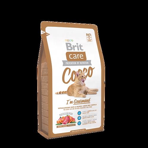 Brit Care Cat Gourmand Cocco 7 Kg