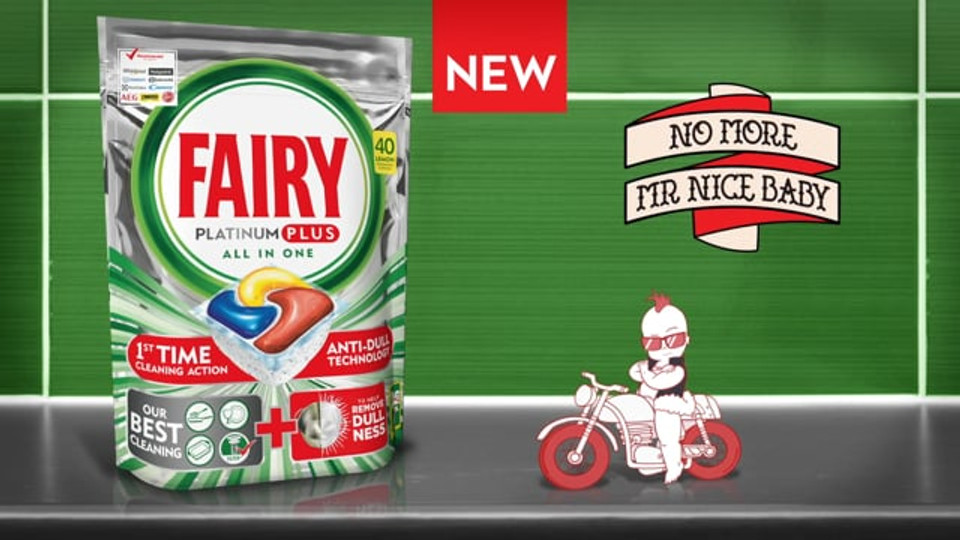 No more Mr Nice Baby