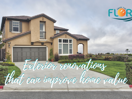 Exterior renovations that can improve home value