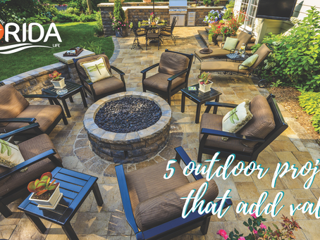 5 outdoor projects that add value