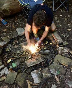 Stuart firelighting