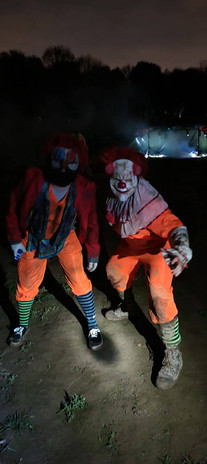 Nott's Maze clowns.JPG