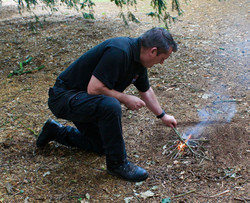 Gary fire lighting