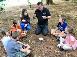 We teach you step by step how to build and start a campfire