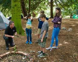 Group axe training