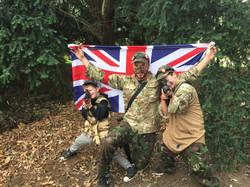 Boys win the flag
