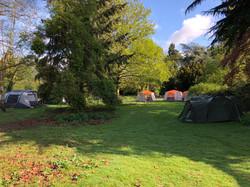 Tents all set up