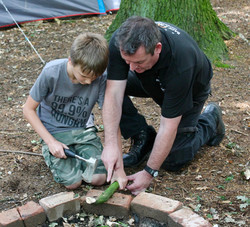 Teaching fundament skills to children of all ages
