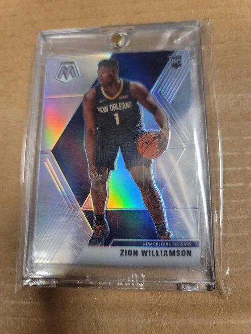 Zion Williamson Mosaic Silver Prizm RC