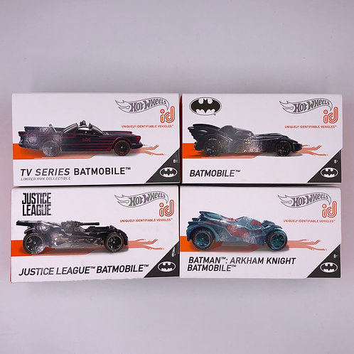 Hot Wheels ID Batmobile Lot