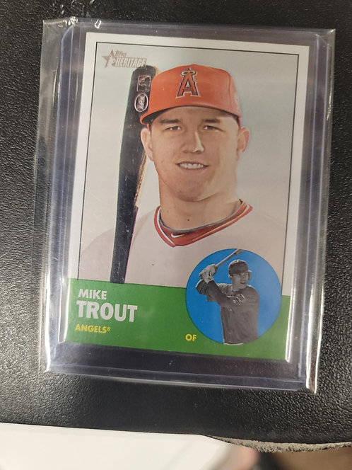 Mike Trout 2nd Year Card