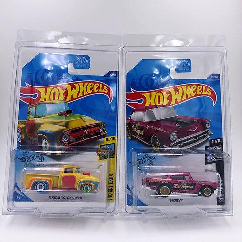 Super Treasure Hunt '57 Chevy & Custom '56 Ford Truck Lot