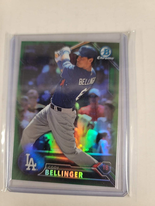 Cody Bellinger Green Prospect Refractor #d/99